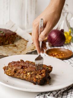 Vegan Lentil Meatloaf Recipe