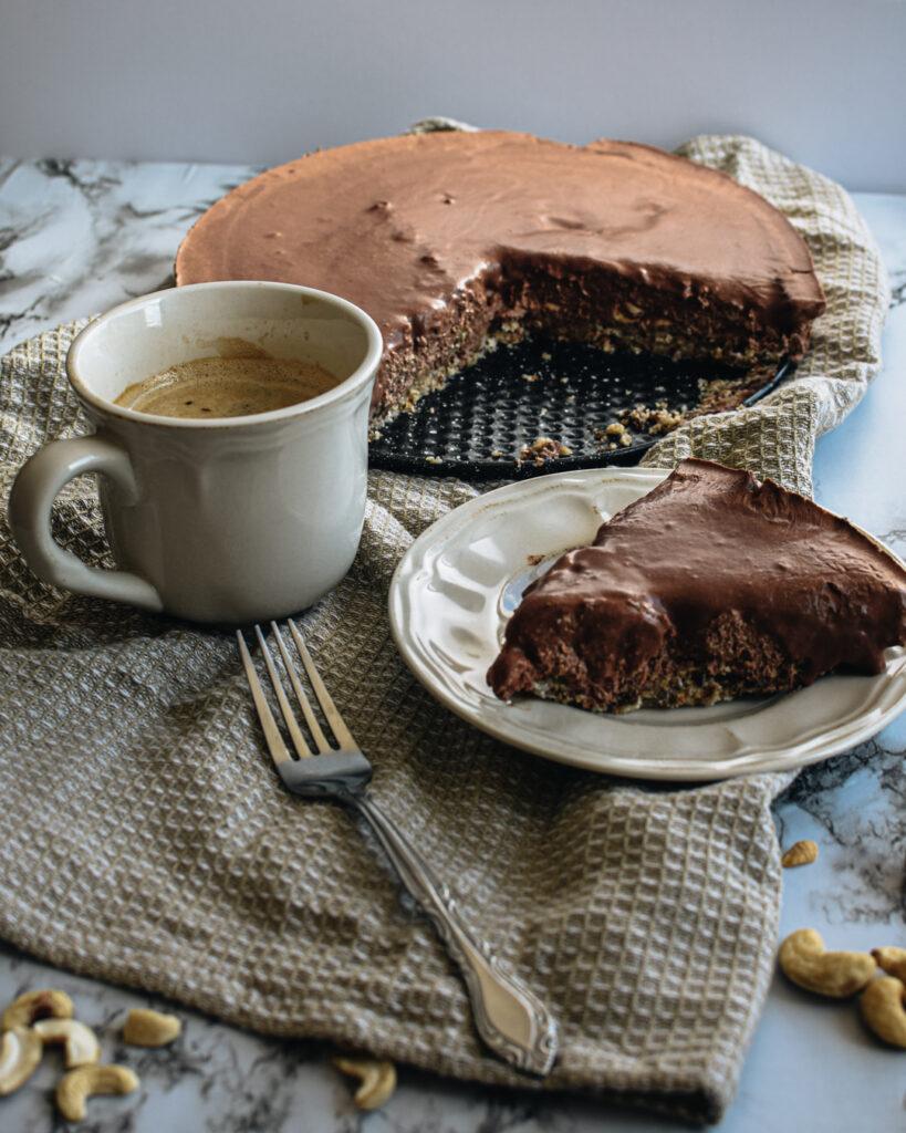 Decadent Raw Vegan Chocolate Cake