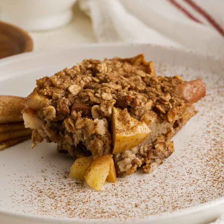 Healthy Baked Oatmeal Recipe