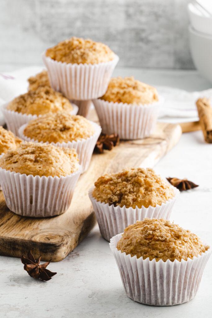 Vegan sweet potato muffins