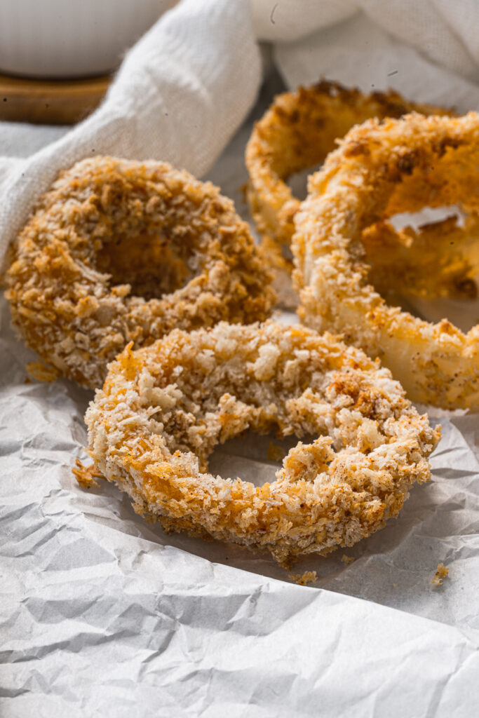 homemade onion rings without egg