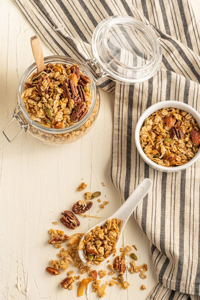 Maple Pecan Granola Recipe
